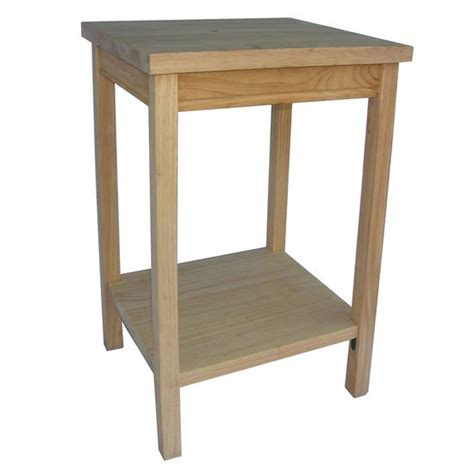 kitchen accent table accent table unfinished accent table by international