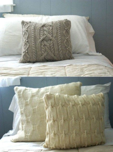 25 unique knitted pillows ideas on knitted