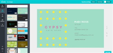 canva business 10 ways to create manage and share digital business cards