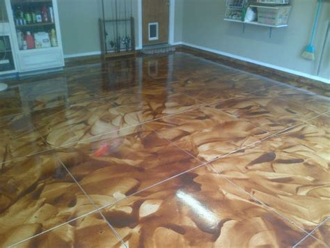 cool floor designs painted man cave garage floor ideas house design and office