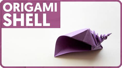 How To Make Paper Shells - origami shell davor vinko