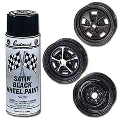 eastwood satin black rally wheel paint 12 oz aerosol automotive