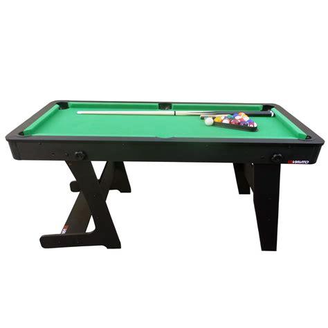 5 pool table viavito pt100x 5ft folding pool table