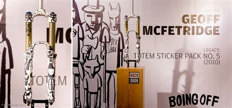 Rock Shox Totem Aufkleber by Sram Pop Up Store For World Bicycle Relief By Ianhylands