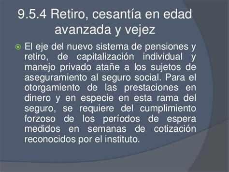 imss pensiones jubilacion y retiro seguro social 9 seguridad social