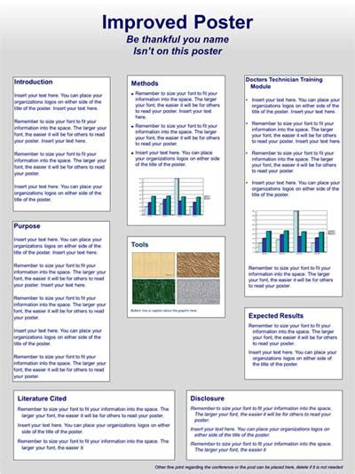 best templates for scientific posters scientific poster design and layout fonts colors