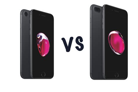 apple iphone 7 vs iphone 7 plus what s the difference gearopen