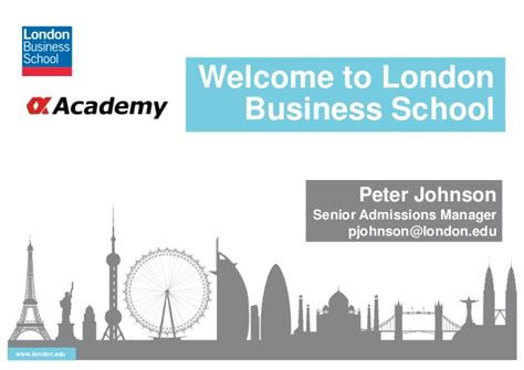 Mba Lbs Linkedin by αmbaゼミ Business School Lbs 10 30