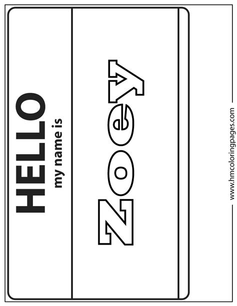 pages of zoey coloring page h m coloring pages