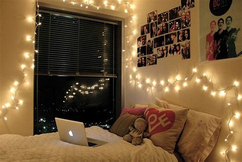 University Bedroom Ideas How To Decorate Your Dorm Room Decoration Lights For Bedroom