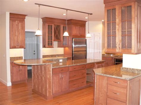 maple kitchen cabinets raised panel cabinetry