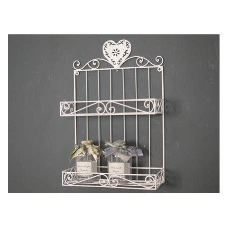 mensole in ferro mensola a muro in ferro libreria bianco 2 ripiani per