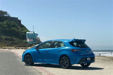 Toyota Hatchback 2019 by 2019 Toyota Corolla Hatchback Review