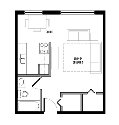 floor plan studio type floor plans sagstetter properties