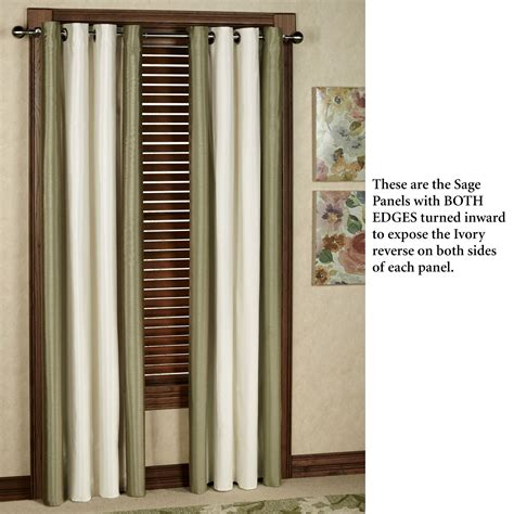 how wide should grommet curtains be miller reversible thermalogic tm grommet wide curtain pair