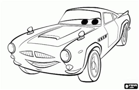 cars 2 finn mcmissile coloring pages cars coloring pages online coloring pages disney