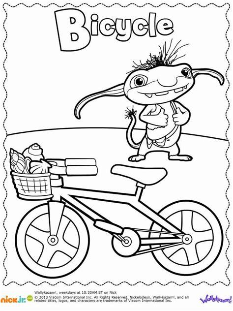 nick jr wallykazam coloring pages amazoncom jumbo coloring party nick jr 9780375863523