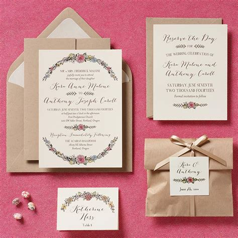 Wedding Invitations Ideas Diy by Simple Creative Diy Wedding Invitations Ipunya