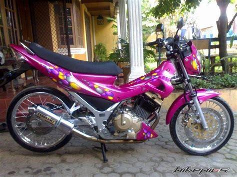 modifikasi suzuki velg tdr et shape motorcycle