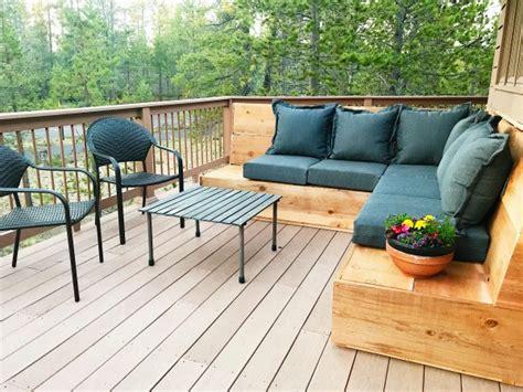 diy outdoor sofa sectional sunset magazine inspired diy outdoor sectional reluctant
