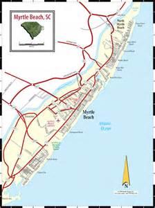 myrtle sc map