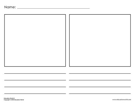 printable book template education world teacher tools templates including the