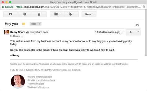 How To Create A Custom Gmail Design And Template Gmail Email Signature Template