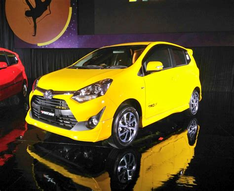 All New Toyota Agya all new toyota agya tahun 2017 tipe trd s warna kuning