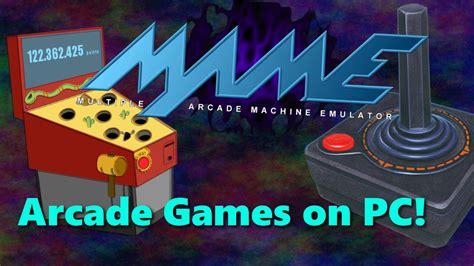mame tutorial arcade games  pc youtube