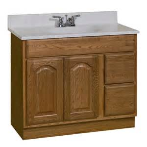 menards bathroom vanity cabinets pace king series 36 quot x 18 quot vanity with drawers on