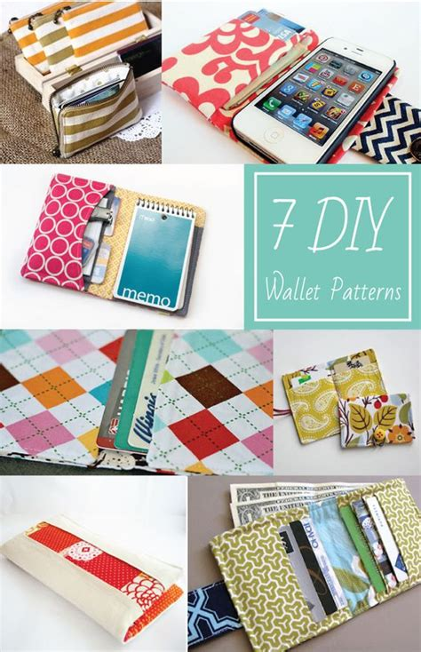 pinterest pattern sewing 7 diy wallet patterns everything etsy sewing projects