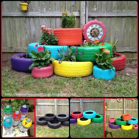 Tire Planters Diy by 19 Diy Tire Planter