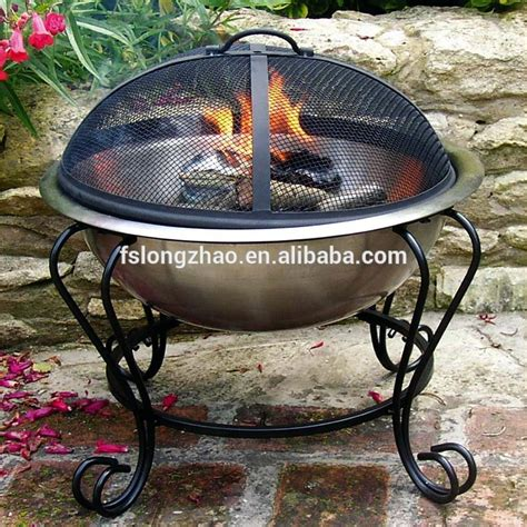 cast iron wood burning outdoor fireplace chiminea pit