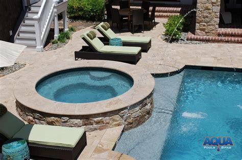 pool spa custom spas custom gunite tubs aqua pools spas