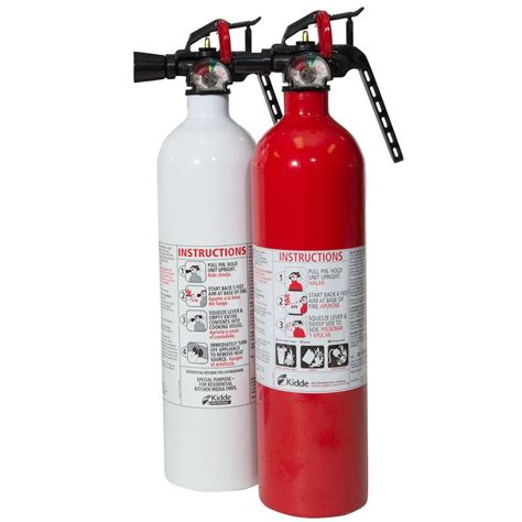 Small Extinguisher For Home Kidde Recreation 1a10bc Fx And Kitchen 711a Fx