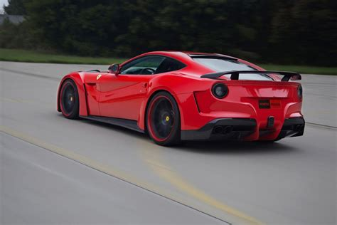 Novitec Rosso Builds Wide Body Ferrari F12 Berlinetta