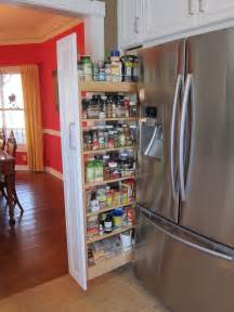 Kitchen Cabinets Spice Rack Pull Out The Kitchen Is Finished And I Love It Great Food It