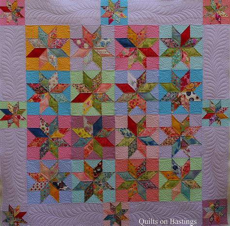 quilt pattern eight pointed star quilts on bastings eight pointed star quilt