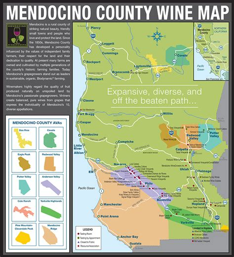 california map mendocino county mendocino county appellations map norcalvineyards