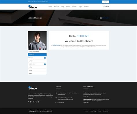 e learning bootstrap templates educo elearning education bootstrap html template by
