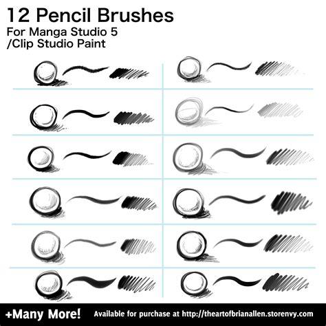 pattern brush manga studio clip studio paint manga studio 5 brushes volume 1