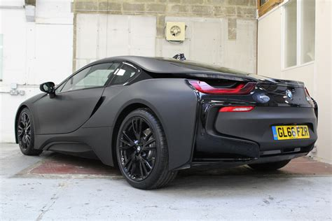 Bmw I8 Black Matte Wrap