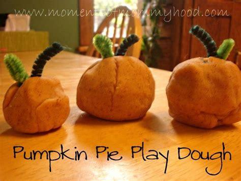 oldie  goodie pumpkin pie play dough halloween fall crafts pumpkin halloween activities