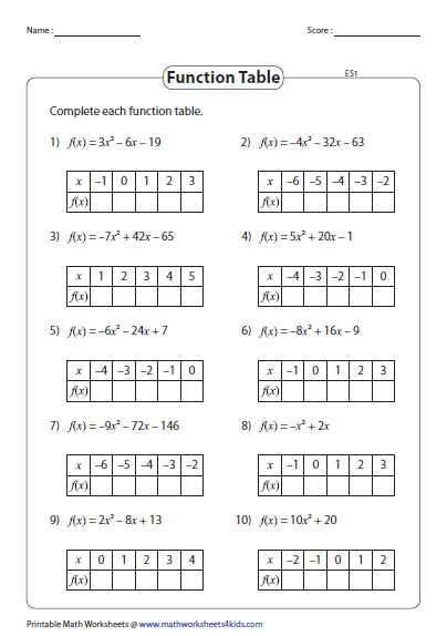 function table worksheet answer key function table worksheet answer key brokeasshome com