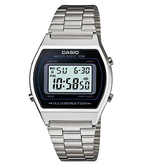 casio silver digital buy casio silver digital