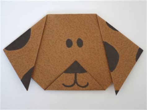 paper a puppy origami family crafts