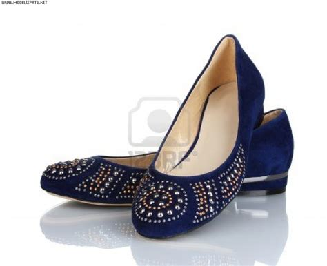 Sandal Sepatu Wanita Murah Flat Shoes Blue Biru 009 flat shoes ristashoes