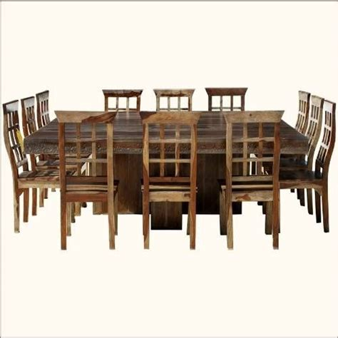 Dining Tables Seat 12 Square Dining Table For 12 Dislike Chairs But Like Idea Of Square Dining Table Vs Rectangle