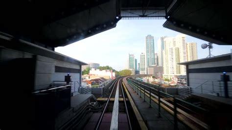 gelander machine journey on the modern driverless metro kuala lumpur