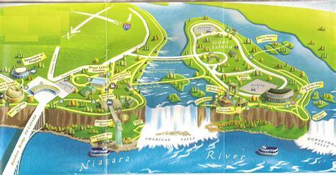 america map niagara falls niagara falls travel from philadelphia